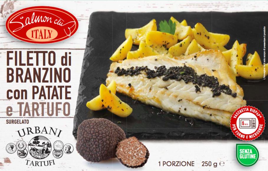Dalla Salmon Club Piatti Pronti A Base Di Pesce E Tartufi Seafood